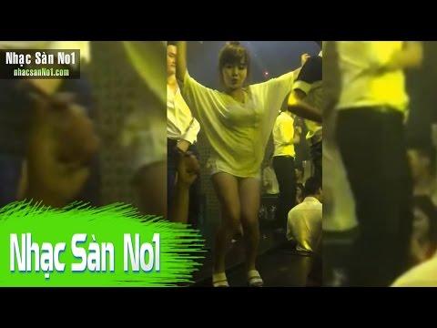 Nhạc Sàn DJ Nonstop Cực Mạnh 2016 - Quẩy Cùng Nữ Cơ Trưởng Xinh Đẹp Bay Mất Xác Trên Bar
