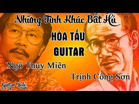 Hòa Tấu Guitar Nhạc Trịnh Công Sơn, Ngô Thụy Miên - Những Bản Guitar Bất Hủ Của Guitarist  Vĩnh Tâm
