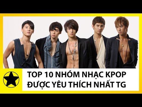Top 10 Nhóm Nhạc KPOP Được Yêu Thích Nhất Thế Giới