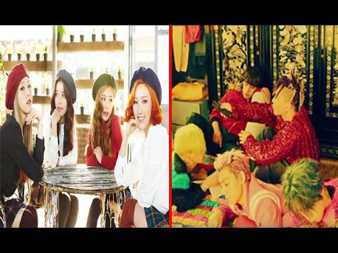 Những nhóm nhạc Kpop hát live cực đỉnh khiến fan 'mát lòng'