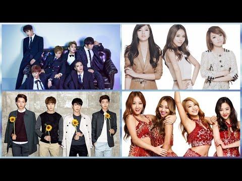 8 nhóm nhạc Kpop mà sẽ hết hạn hợp đồng trong năm 2017