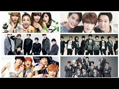 18 Khẩu hiệu chào của các nhóm nhạc K-POP