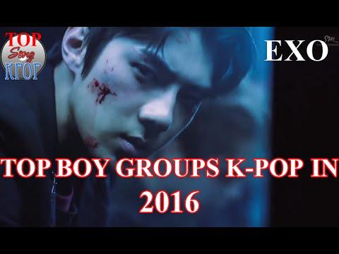 10 Nhóm Nhạc Nam Hàn Quốc Nỗi Tiếng Nhất Năm 2016
