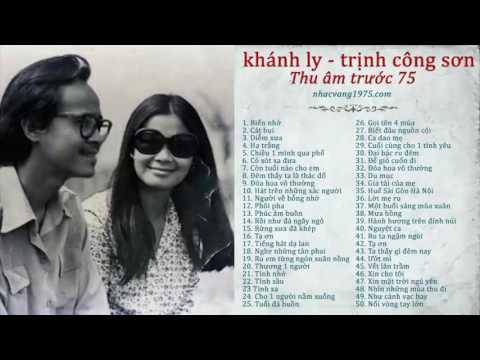 Khánh Ly hát nhạc Trịnh Công Sơn (Pre75) - Nhạc Vàng Trước 1975