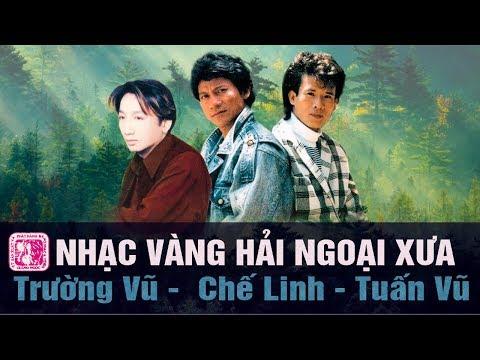 Nhạc vàng hải ngoại xưa với danh ca Trường Vũ, Tuấn Vũ, Quang Lê