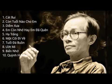 Top 10 bài hát của Trịnh Công Sơn được yêu thích nhất - Khánh Ly