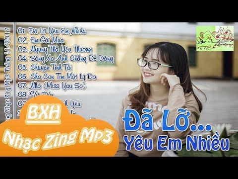 Bảng Xếp Hạng Nhạc Zing Mp3 Tháng 11/2017 - Nhạc Hot Việt Tháng 11/2017 (Vol.7)