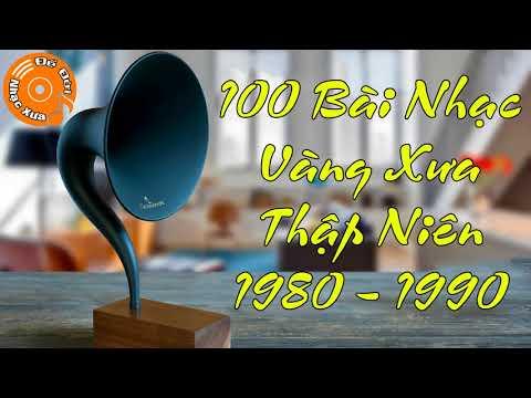 Tuyển Chọn 100 Bài Nhạc Vàng Hải Ngoại Bất Hủ Thập Niên 1980