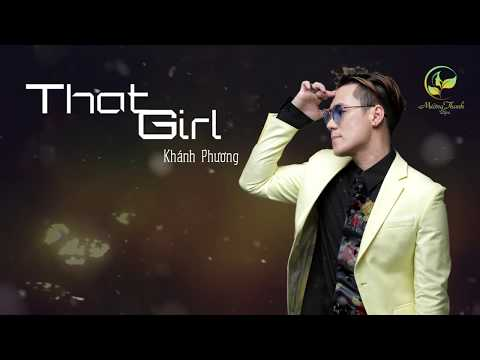 That Girl Cover  - Khánh Phương