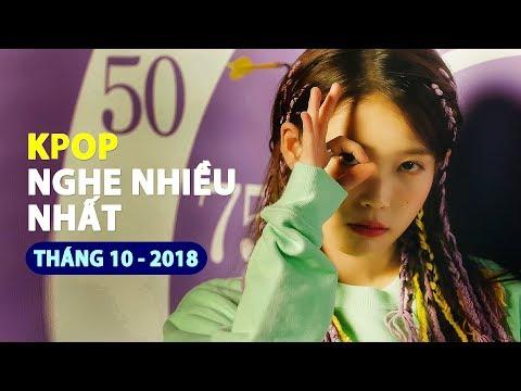 Top 30 MV Kpop được xem nhiều nhất 10/2018