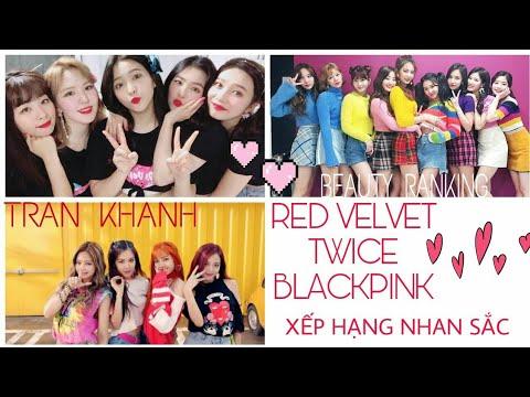 Xếp hạng nhan sắc 3 nhóm nhạc Kpop nữ