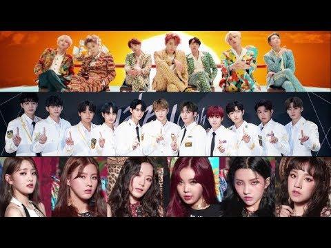Xếp hạng TOP 20 nghệ sĩ Kpop HOT nhất tháng 8/2018