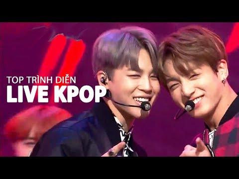 Top 30 Trình Diễn Live Kpop Nhiều Lượt Xem Nhất (10/2018)