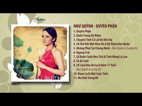Tuyển tập album Duyên Phận - Như Quỳnh