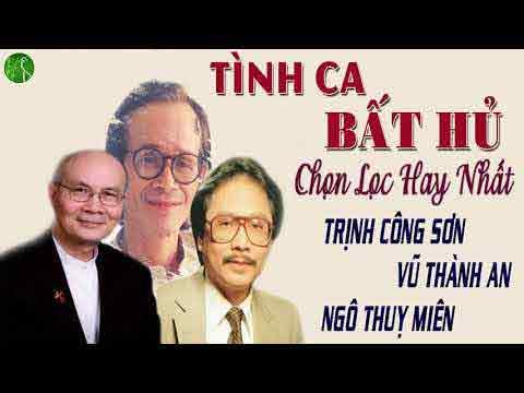 Tinh ca để đời - Vũ Thành An, Trịnh Công Sơn, Ngô Thụy Miên