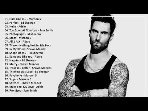 Top 20 bài hát Âu Mỹ 2019