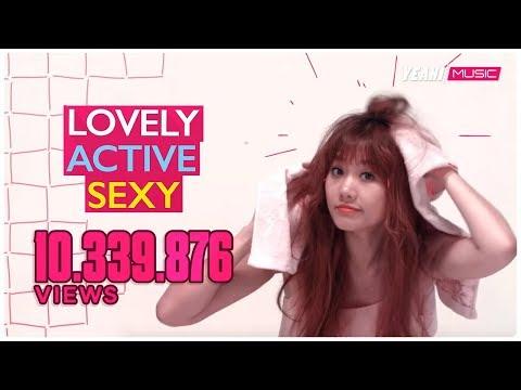 Lovely Active Sexy - Hari Won, Hà Lê