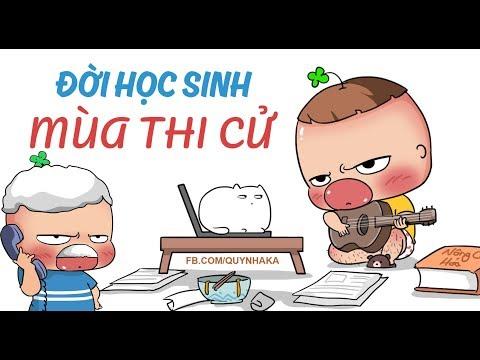 Bài Ca Khích Lệ Mùa Thi (Cực Bựa) - Quỳnh Aka